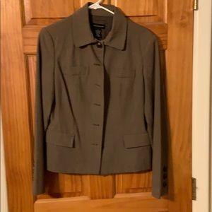 Rafaella size 10 blazer! Light brown.